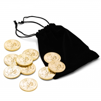 Tooth Fairy Coin Gold Plated