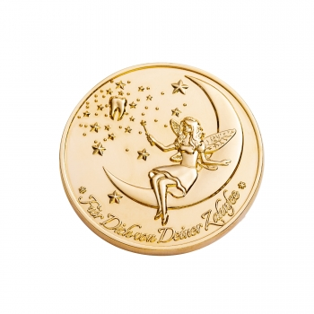 "Tooth Fairy Coins ""Designer Set 1"" goldplated - German Version"
