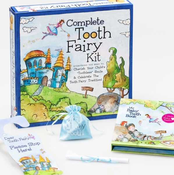 Tooth Fairy Land - Gift set in blue